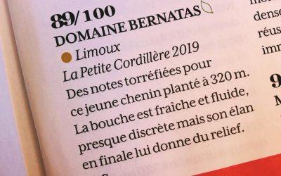 """La Petite Cordillère distinguée dans """"La Revue du Vin de France"""""""